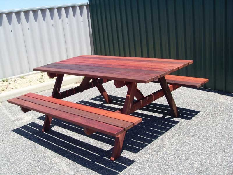 e0-11-Port--6-seater-picnic-tables-with-attached-benches