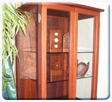 display cabinets, cases and frames